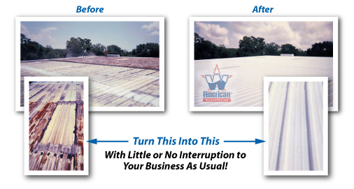 Roof Coatings Save Energy Costs