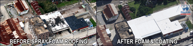 Spray Foam and Roof Coatings